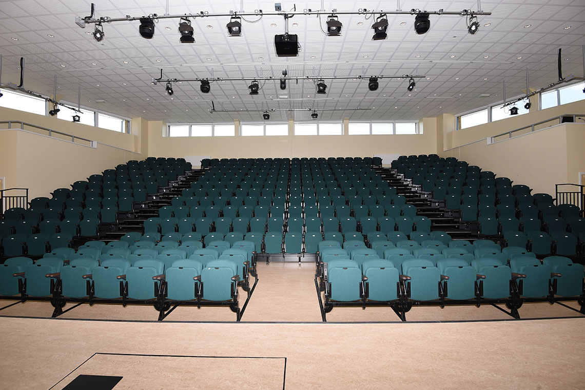 school assembly hall