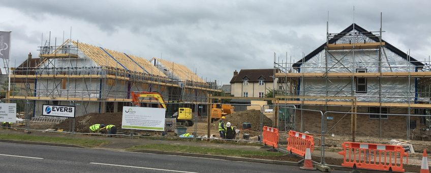 27 New Dwellings, Cambourne – Progress update news banner