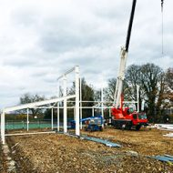 Works commence on site at Kingshott School.