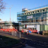 Site Progress at Barton Road Housing Development, Ely