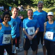 Team Evers takes part in Birketts' Race 4 Business
