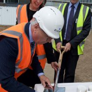 Sod Cutting Ceremony at Dame Alice Owen's School, Potters Bar £5.25m