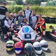 Evers Completes British 24hr Karting Challenge